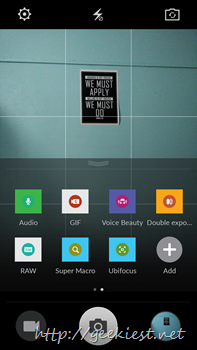 Color OS camera ported to OnePlus One