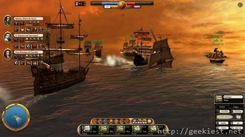 Commander - Conquest Of The Americas -Screenshot