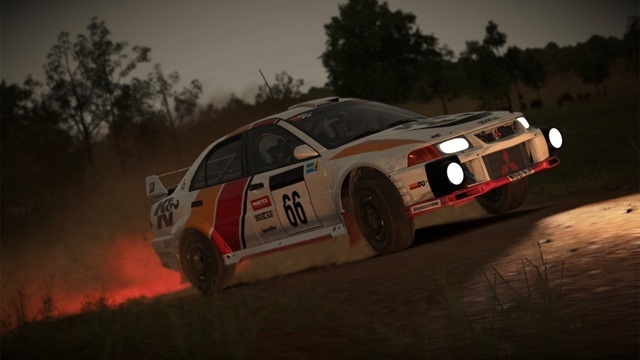 Dirt 4 night