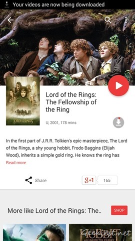 Download Lord Of The Rings Google Play Movies