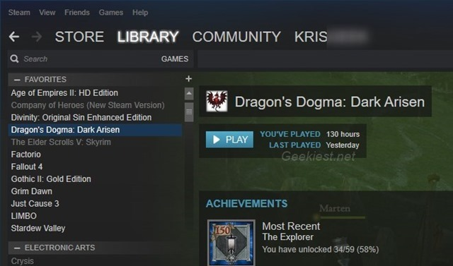 Dragons Dogma Game