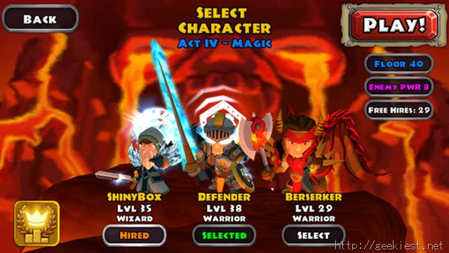 Dungeon Quest iOS