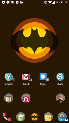 Dynamic App Badges Nova Launcher
