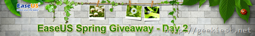 EaseUS Spring Giveaway