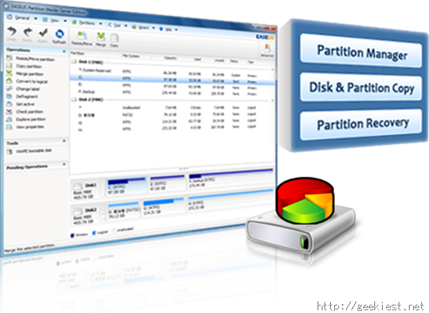 Easeus Partition Manager Pro