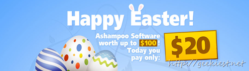 Easter Special Offer from Ashampoo