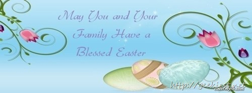Easter Facebook Cover photo 2