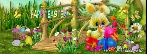 Easter Facebook Cover photo 3