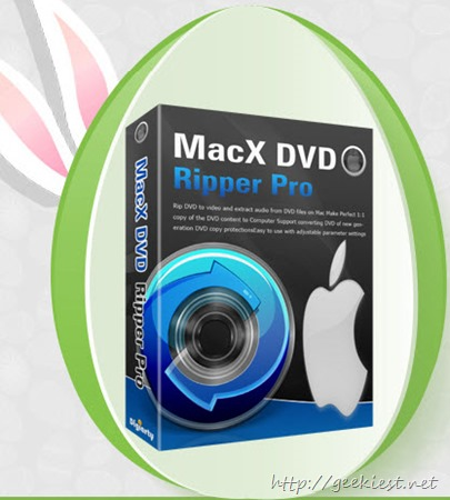 Easter Giveaway MacX DVD Ripper Pro