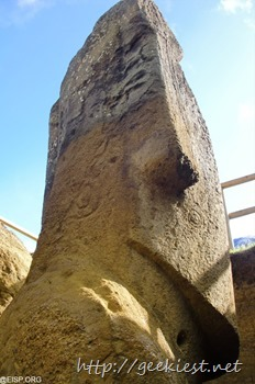 Easter Island statues excavation photos 5