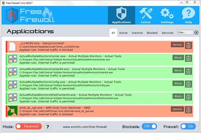 free internet firewall reviews