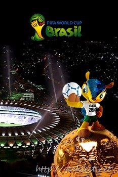 FIFA worldcup 2014 -DARK-wallpaper