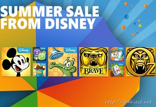FREE–Nine Disney games for Windows Phone