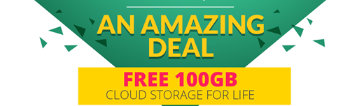 FREE 100GB cloud Storage