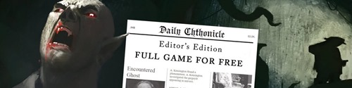 FREE Daily Chthonicle Editors Edition Giveaway
