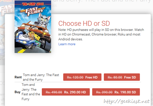 FREE HD Tom and Jerry movie Free
