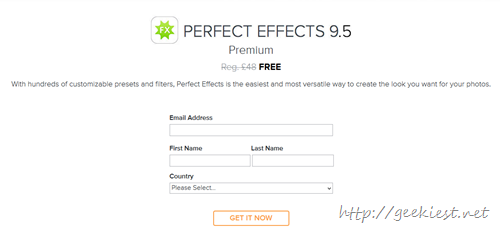 FREE On1 Perfect Effects 9.5  Premium License