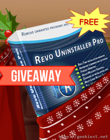 FREE Revo Uninstaller Pro Full version license Giveaway