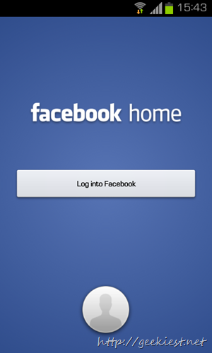 Facebook Home - Try the leaked version