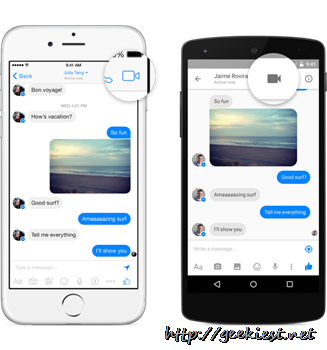 Facebook Messenger Video Calling–Now available for 18 countries