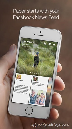 Facebook Paper–How to get it outside US