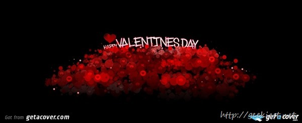 Facebook cover photos - Valentines day 1