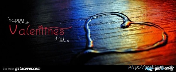 Facebook cover photos - Valentines day 5