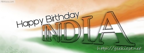 Facebook covers    Indian Independence day 2