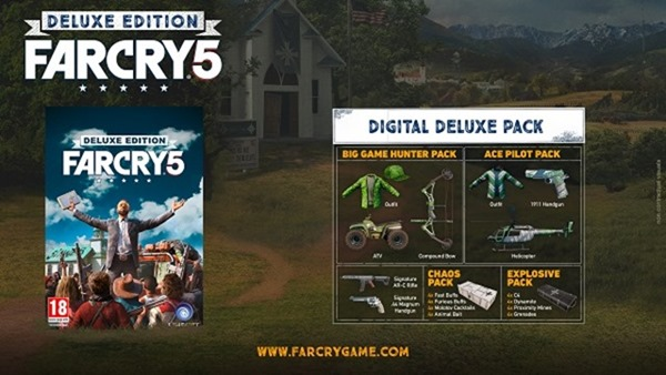 Far Cry 5 digital deluxe edition