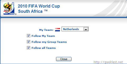 Fifa-worldcup-Favourite-team-Chrome-extesion