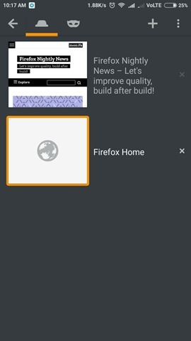 Firefox UI Android 2