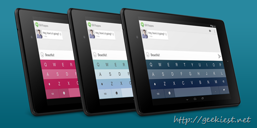 Fleksy- GIF Keyboard Free for Android devices