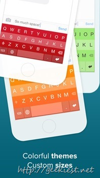 Fleksy with GiF Keyboard for iOS–Free for a limited time