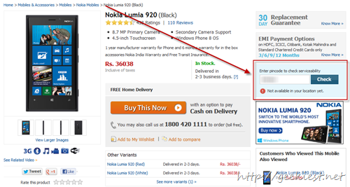 Flipkart - delivery issue