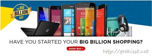 Flipkart Big Billion Day Sale