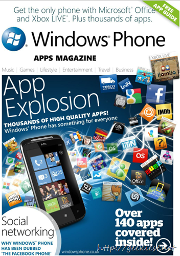 Free eBook - Windows Phone App magazine