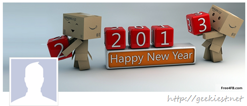 Free facebook covers 2013 new year