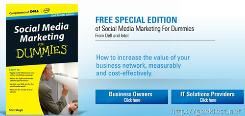 Free-eBook- Social Media marketting for Dummies