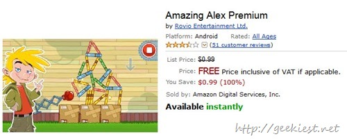 Free Amazing Alex Premium android game