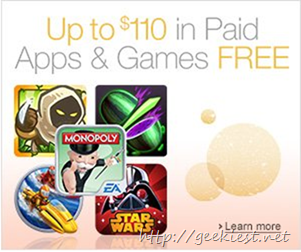 Free Android Apps and Games worth USD 110