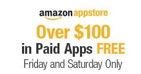 Free Android Apps worth USD 100 on Amazon Store