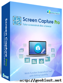 Free Apowersoft Screen Capture Pro license Giveaway