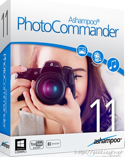 Free Ashampoo Photo Commander 11 full version licenses