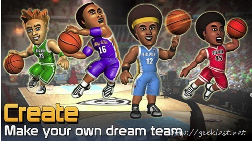 Free BIG WIN Basketball game for iOS worth USD 9.99