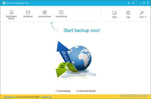 Free Backup Solution for your PC