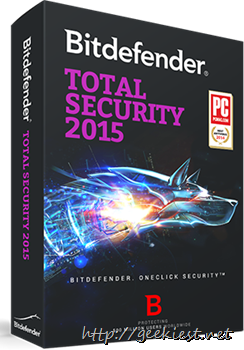 Free Bitdefender Total Security 2015 6 months license