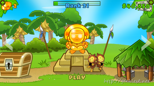 Free Bloons TD 5 for your iOS devices - Limited Time