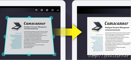 Free CamScanner Pro  for Android and iPhone