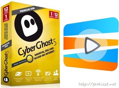 Free CyberGhost 5 Premium VPN and Smart DNS Proxy