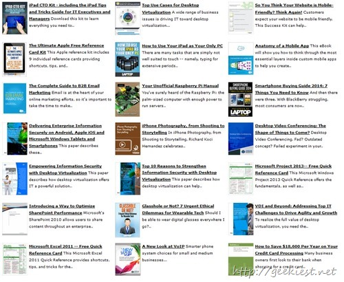Free Desktops, Laptops and OS magazines, white papers and podcasts